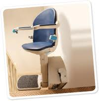 Swivel stairl lift seat